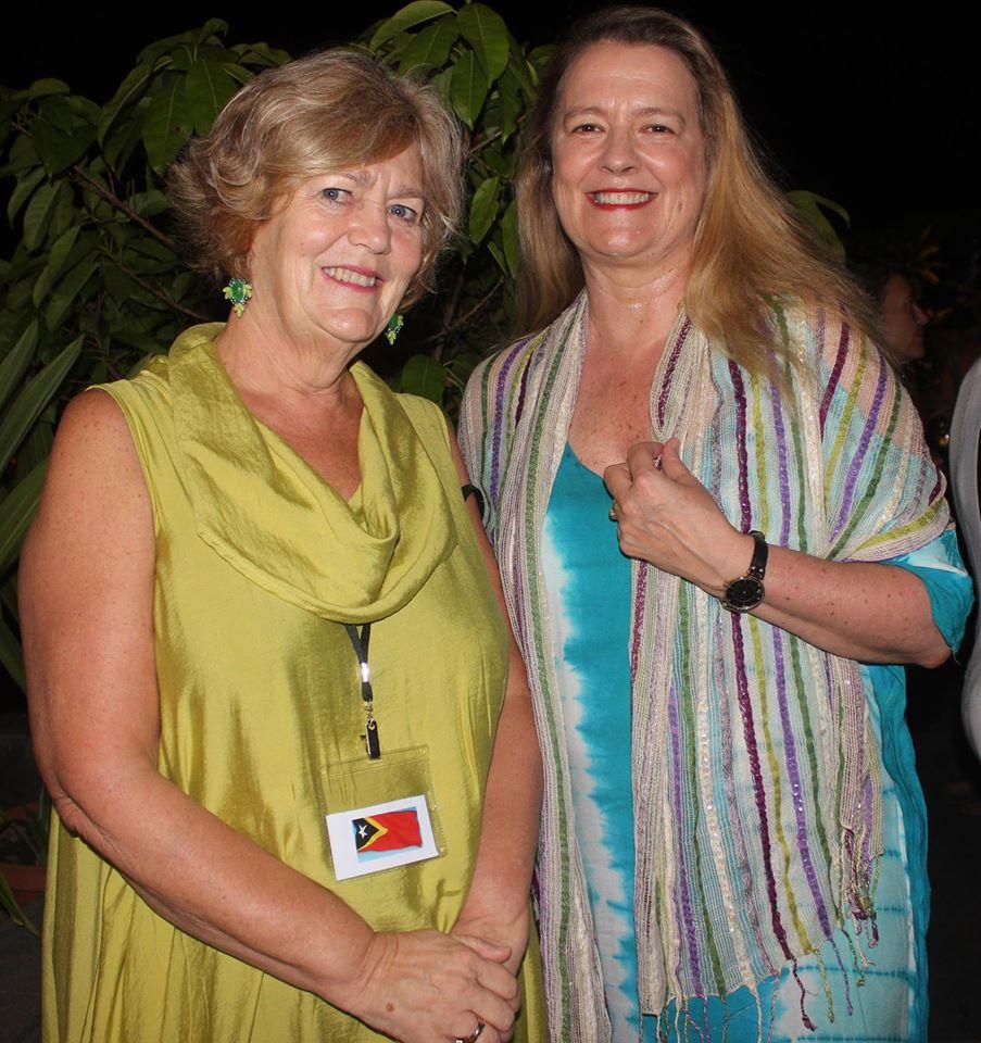 Gabby Brown & Anne Healey